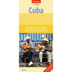 Nelles Landkarte Kuba