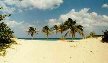 Strand bei Guanabo, Kuba